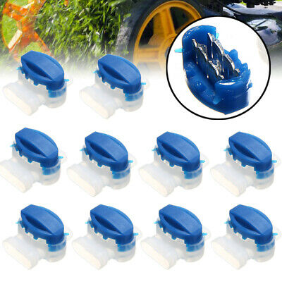 10pcs Wire Connectors For Garden Automower Husqvarna Lawn Mower Waterproof Set