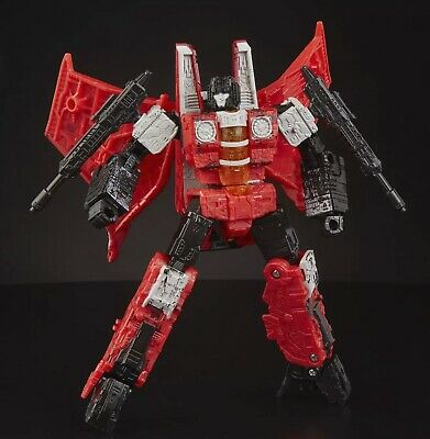 TRANSFORMERS RED WING Generations Selects War for CYBERTRON Siege Redwing Red US
