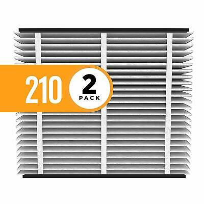 Aprilaire 210 Air Filter for Aprilaire Whole Home Air Purifiers, MERV 11(Pack2)