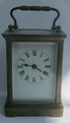 Fine Antique French 8-Day Carriage Clock