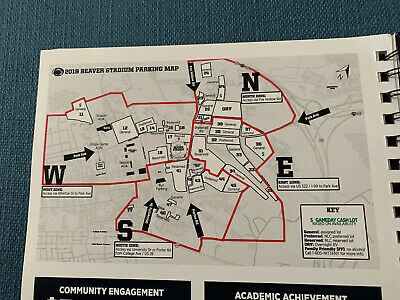 PENN STATE vs. RUTGERS RESERVED PARKING PASS