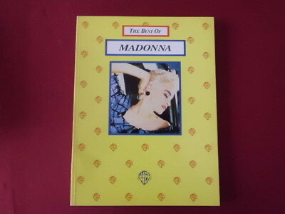 Madonna - Best of . Songbook Notenbuch Piano Vocal Guitar PVG