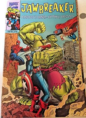 JAWBREAKER SPECIAL MARVEL'S HARD HITTING HEROES SPECIAL Rare Comic Book