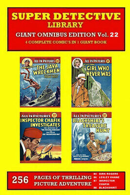 SUPER DETECTIVE LIBRARY GIANT OMNIBUS VOL. 22 Contains SDL Numbers 85 86 87 & 88