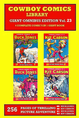 COWBOY COMICS LIBRARY GIANT OMNIBUS VOL. 23 Contains CPL Numbers 89 90 91 & 92