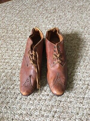 Antique Leather Child's Shoes