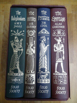 4-Book Set – Empires Of The Ancient Near East – Folio Society