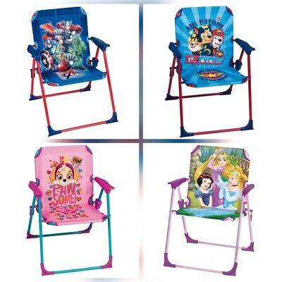 Paw Patrol Marvel Avengers Comfortable Safety Lock Chair Indoor and Outdoor Use