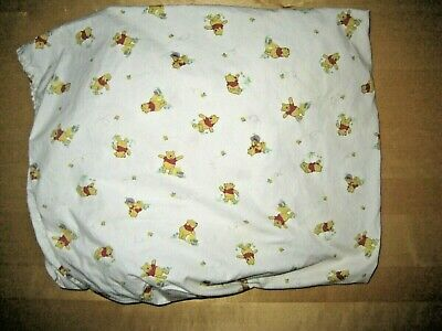 Winnie The Pooh Fitted Toddler/Crib Sheet