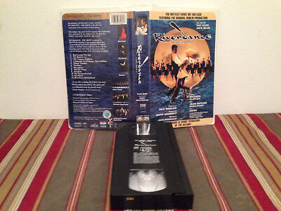 Riverdance - The Show (VHS, 1996, Clam Shell Case) Tape & clamshell case