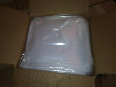 Clear Plastic Bag Poly Bags 12 X 18 Lay Flat 1000 ps Open Top 2 Mil Packing bags