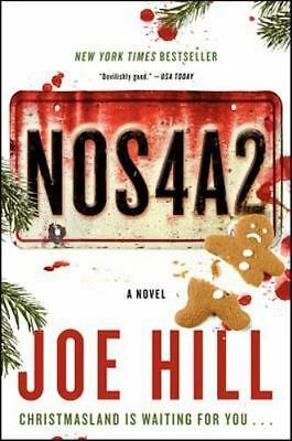 NOS4A2: A NOVEL by JOE HILL 2013 Like New Paperback- Quick Ship Free Delivery