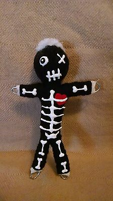 AUTHENTIC VOODOO DOLL Black-With Pins - $12 99 | PicClick