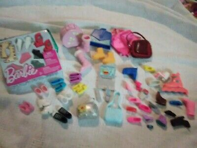 barbie shoes /purse lot new and used laptop cell phone tv remote