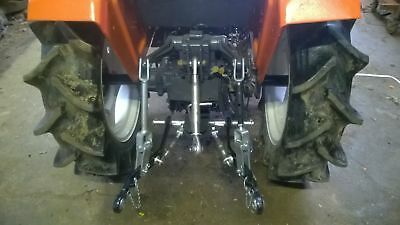 NEW Compact Tractor Rear Cat 1, 3 Point Linkage Kit with Top Link to Fit Kubota