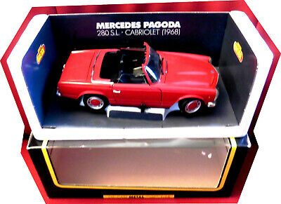 Mercedes 280 SL Pagode Cabriolet 1968, 1/18, mint & boxed