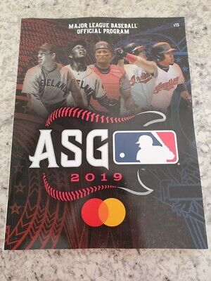 2019 Official MLB All-Star Game Program ASG Cleveland NEW UNUSED All Star