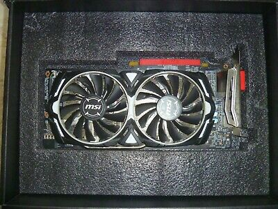 MSI RX 580 4GB ARMOR OC Graphics Card |  VR READY! MINT ! FREE SHIPPING!