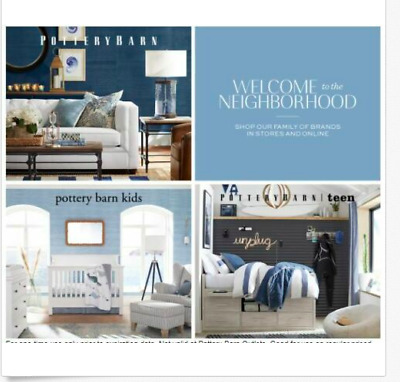 Pottery Barn Teen 15% OFF Entire Purchase In Store or Online Expires 10/31/2019