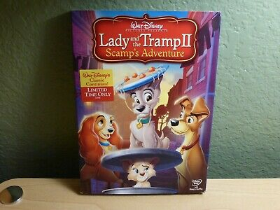 Lady and the Tramp II: Scamp's Adventure (DVD, 2006) Walt Disney Presents