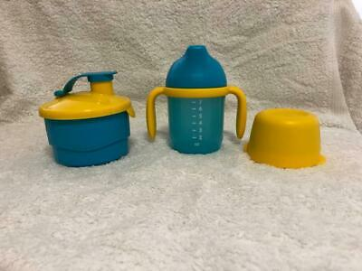 TUPPERWARE Grow With Me Sipper Cup and Formula Dispenser - BRAND NEW