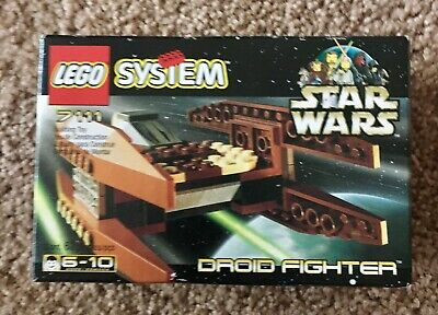 LEGO 7111 Star Wars Episode 1 - Droid Fighter - NEW In SEALED Box - Retired 1999