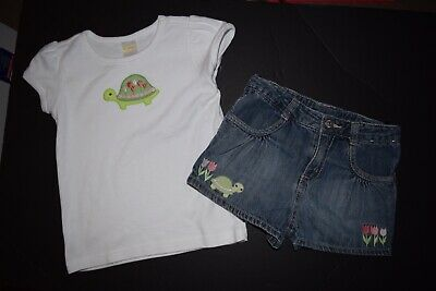 Gymboree World of Eric Carle White Shirt Top w//Ladybug  Size 4T 5T 6T NEW
