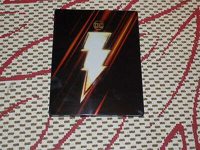 Shazam Steelbook, 4K Ultra Hd And Blu-Ray, Excellent Condition