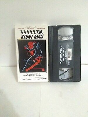 The Stunt Man VHS 1980 Magnetic Video VERY RARE Peter O'Toole Steve Railsback
