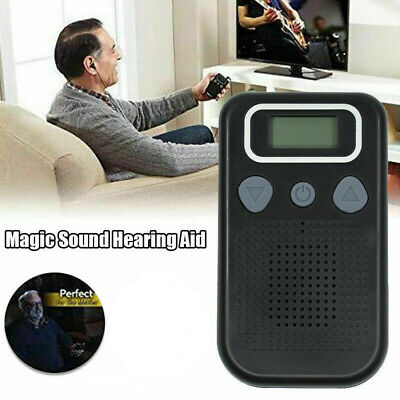 Magic Personal Ear Hearing Aid Device Booster Sound Hearing Amplifier Digital