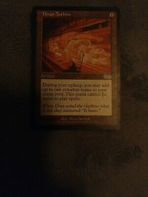 (1x) Thran Turbine (Urza's Saga) - MTG Magic the Gathering Card - NM/LP