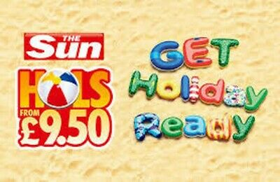 The Sun Holidays Booking Codes £9.50 ALL 10 Token Code Words **Msg Me ASAP**.