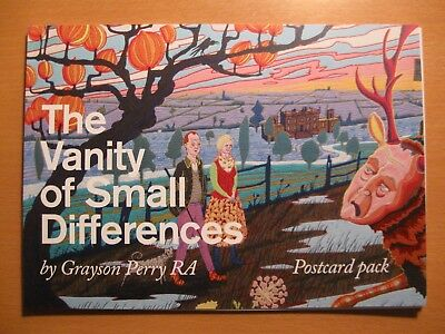 Grayson Perry: The Vanity Of Small Differences - Postcard Pack