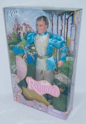 2001 Ken as Prince Stefan Talking Doll from Barbie as Rapunzel BNIB MINT