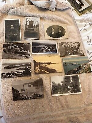 x11 Postcards Dating 1919 To Probably 1930's Depicting Wales