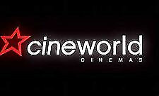 2 Adult and 2 Child Cineworld 2D Cinema e-Ticket codes Family  Exp 31/08/2019