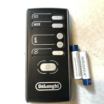 DeLonghi Remote Control  A/C Fan Heater  FREE SHIPPING Batteries Included
