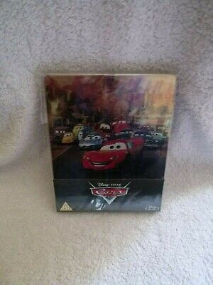 CARS   STEELBOOK  DISNEY  /  PIXAR  in perfect NEW condition