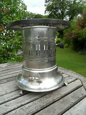 Silver plated Flambe Gas Lamp  by PRIMUS