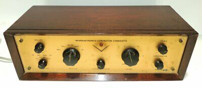 Interelectronics Coronation Consolette Tube Preamplifier For The 400 Tube Amp