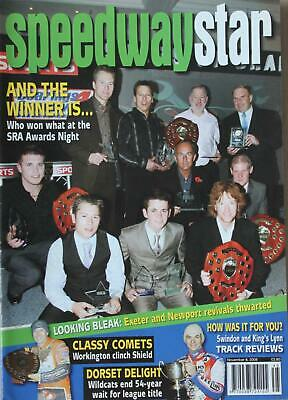 Speedway Star magazine - November 08, 2008 - And the Winner is...