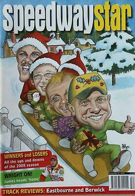 Speedway Star magazine - December 27, 2008 - Winners and Losers
