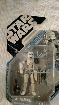 Star Wars Saga Legends 30th #9 McQUARRIE CONCEPT STORMTROOPER Silver Coin UGH