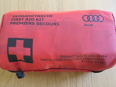 Genuine Audi In Car Compact First Aid Kit Sterile Date 05-2021 A3 S3 A4 Q3 TT Q5