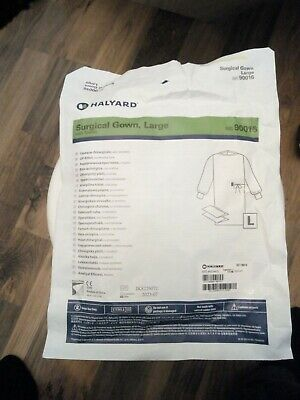 10 X Surgical Gown Kit Disposable Large with towels Doctor Surgeon 90016 Halyard