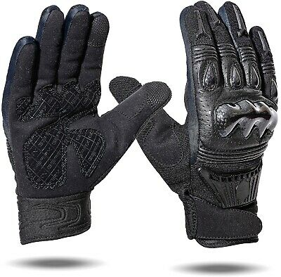 Brando Motorcycle Gloves Carbon Shell Tactical Mittens