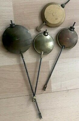 Collection Of Vintage Clock Pendulums For Spares