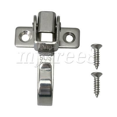 Stainless Steel Movable 180 Degree Clothes Hook Wall Mount Coat Hangers Hook
