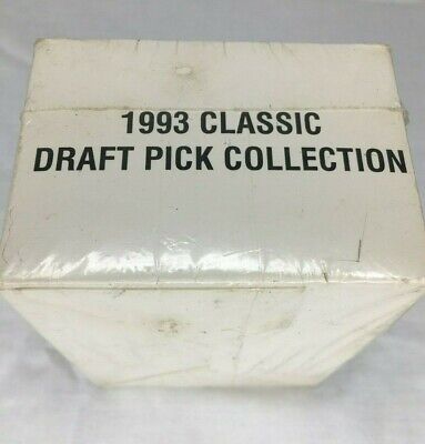 1993 FactorySealed Special Classic Draft Pick Collection Box set Basketball Card
