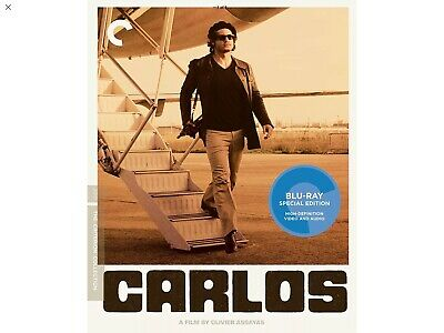 Carlos [Criterion Collection] [2 Discs] Blu-ray . Brand New Sealed